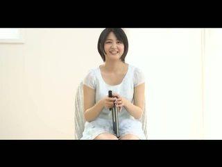 csinos, fiatal, japán