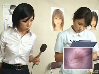 일본의, 희한, 아시아 소녀