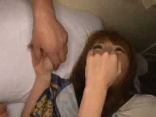 Miku ohashi admires the fellow круглий її хороший shagging skills