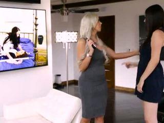 April O'Neil and Jelena Jensen at Mommy's Girl
