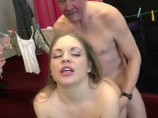 Teeny Seduce Old Man And Plays His Old Dick