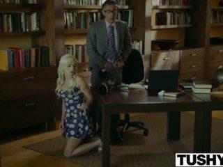Tushy.com nakal rambut pirang anal kacau oleh dia therapist <span class=duration>- 12 min</span>