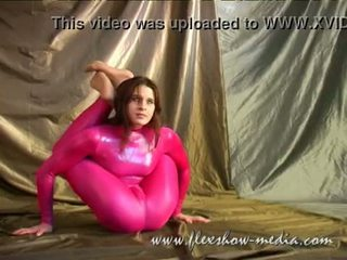 Contortionist Marina Twists Her Body I...