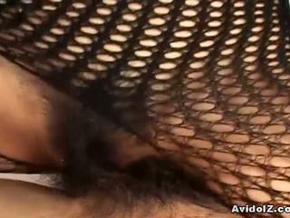 di più giapponese guarda, completo fishnet guarda, bello bodystocking