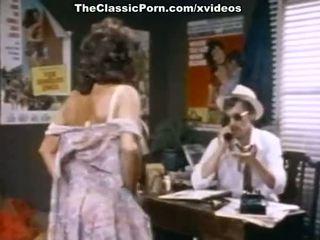John holmes, candy samples, uschi digard en vintage porno película