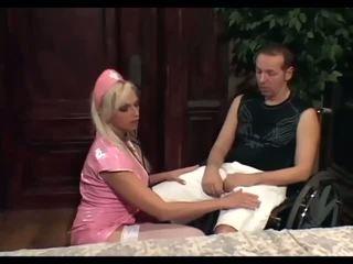看護師 nikki クソ a gimp で ブーツ と ストッキング