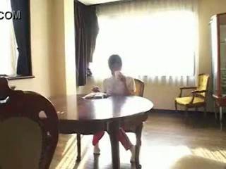 Chinita con dildo Video