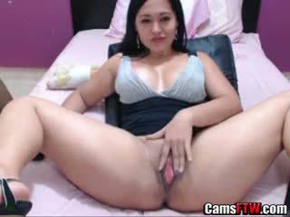 brunette, webcam, solo