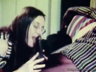 ırklararası, retro porn, vintage sex