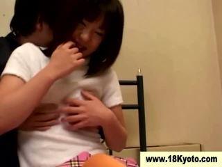 Japonesa porcas jovem grávida aluna vídeo