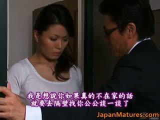 Miki sato ekte asiatisk beauty er en eldre part4