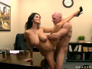 Ava Addams wants nothing more than her lovers awesome nectar after one hot bang