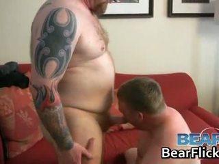 Homofil bears drilling feit rumpe hardcore