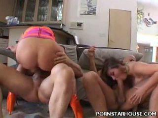 Pecker Riding Busty Porn Stars