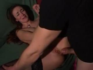 Italialainen seksikäs kuuma milf anaali perse gape