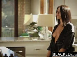 Blacked brünett adriana chechik takes trio kohta bbcs