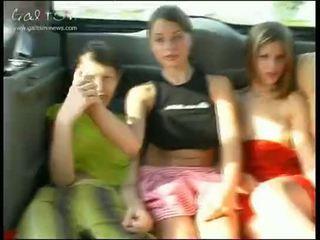 νέος, κορίτσια, δημόσιο