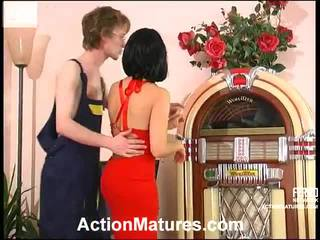 Blande av sex nær til tobias, alana, juliana