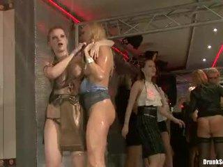 Bibi Fox, Tarra White And Carla Cox Receive Nasty In Party