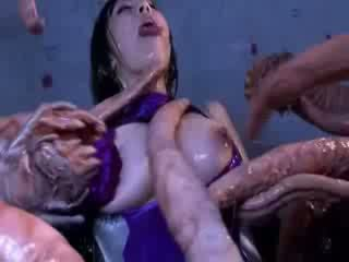 괴물 tentacles jizzing 큰 얼간이 동양의 포르노를 attacker 모든 그만큼 몸