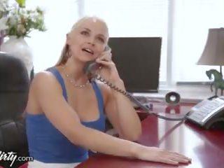 big tits, facials, blonde