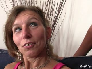 Watching Her Hubby Fucking Old Mom from Behind: HD Porn bf