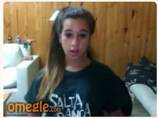 brunetta, adolescenza, webcam