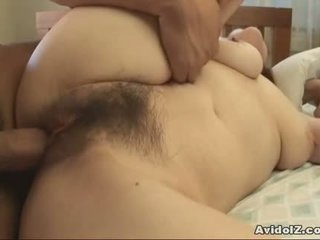 Bedroom Fun With Busty Japanese And Her Man