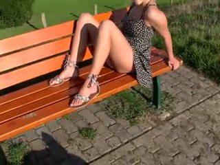 Sahnetorte im deutsch park-extrem public-