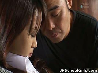 Haruka aida 漂亮 亚洲人 女学生