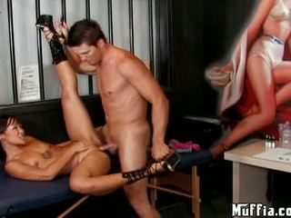 Seksual aziýaly jandi lin acquires her öl twat hammered hard
