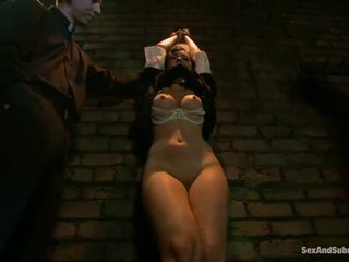 امرأة سمراء, ملاك الظلام مارس الجنس الوحشي, شرجي
