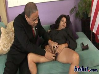 Flor is riding this cock