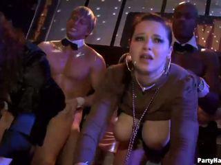 Grup seks e egër patty në natë klub