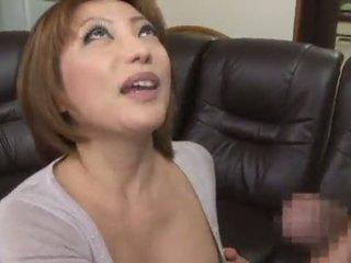 愛らしい と 辛い 中国の reiko kagami giving a 角質 なめる