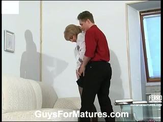 Esther And Gilbert Cute Mature Movie