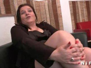 Дебеланки френски възрастни gets тя дупе hammered