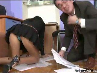 Delightful 항문의 섹스 와 선생