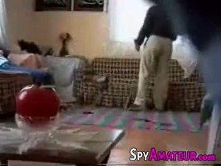 Arabic fille baisée dur par voisin