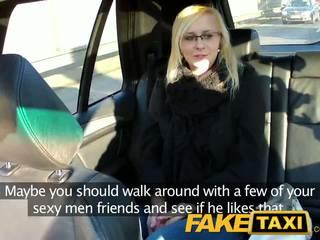 Faketaxi sexy joven rubia en payback venganza