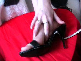 足コキ 精液 靴 ビデオ