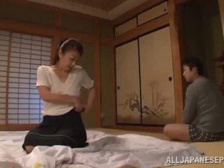 Ayano murasaki has unforgettably made love till going upang sopa