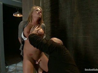 Unge blond aiden aspen gets humiliated