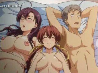 Hentai trio con two hotties scopata hardcore