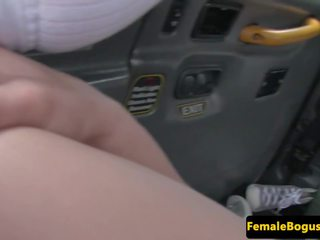 kamu çıplaklık, female fake taxi