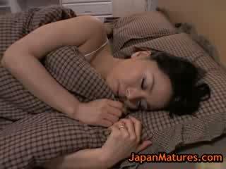 Diwasa big tit miki sato masturbasi on bed 8 by japanmatures