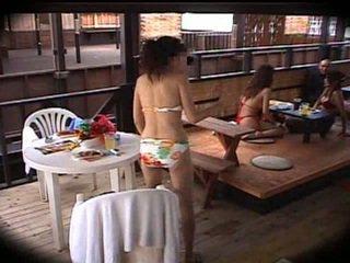 japonés, masaje, club
