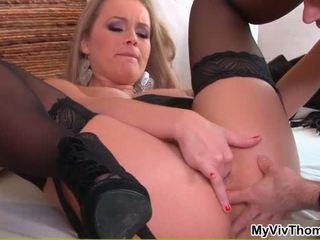 In Sexy Black Lingerie Having Porn