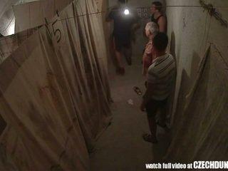 Shocking shots daripada eastern warga europah underground brothel