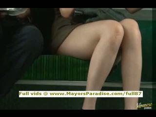 Rio innocent китаянка дівчина є трахкав на the автобус